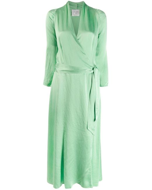 Vestido cruzado Forte Forte de color Green