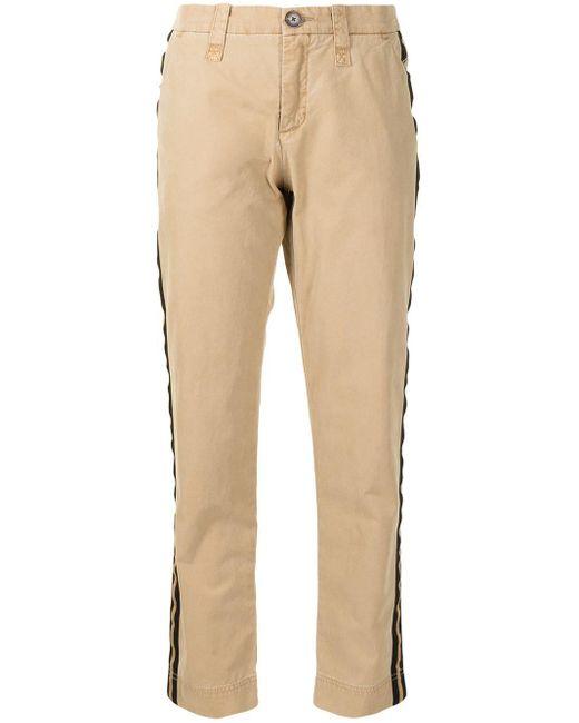 Pantalones Pomelo a rayas Zadig & Voltaire de color Brown