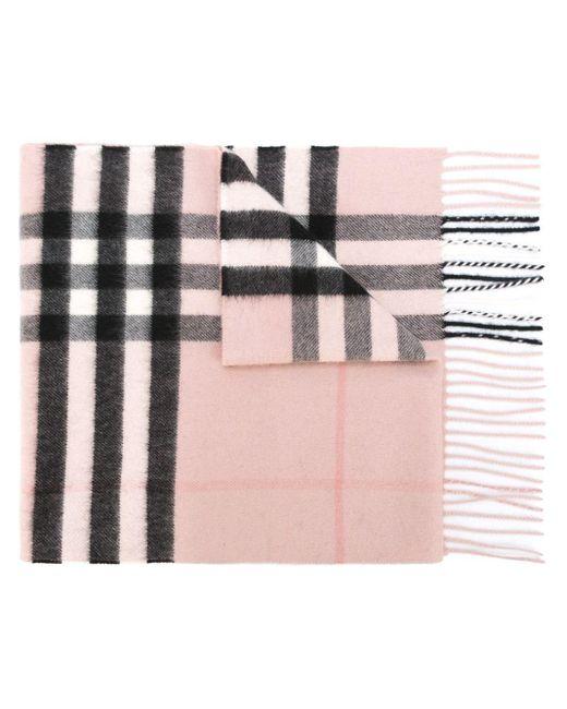 Burberry チェック柄 スカーフ Multicolor