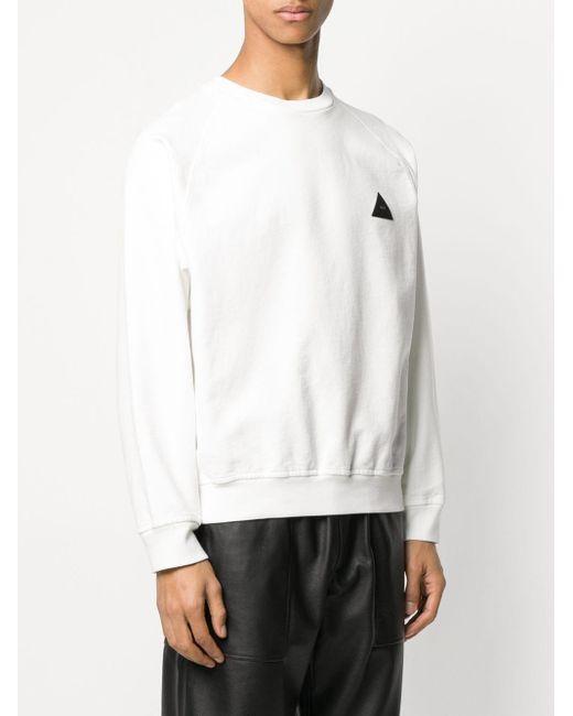 メンズ GR-Uniforma ラグランスリーブ スウェットシャツ White