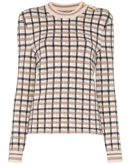 Paco Rabanne チェック セーター Multicolor