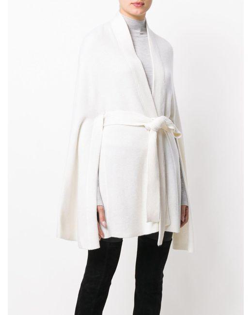 Le Kasha Yatomi ケープ White