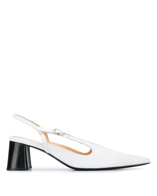 Ellery White 'Diego' Slingback-Pumps, 70mm