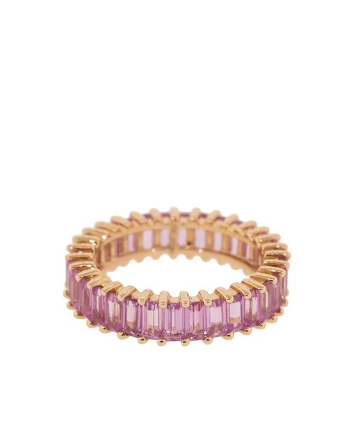 Dana Rebecca Kristyn Kylie サファイア リング 14kローズゴールド Pink