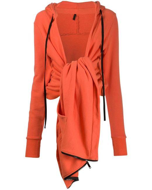 Unravel Project タイフロント ジャケット Orange