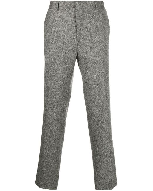 Harmony Gray Peter Woven Trousers for men