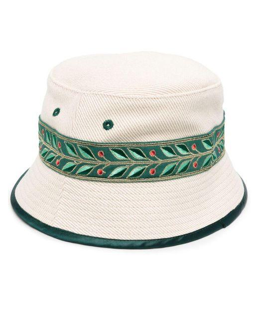 Панама С Принтом CASABLANCA для него, цвет: Green