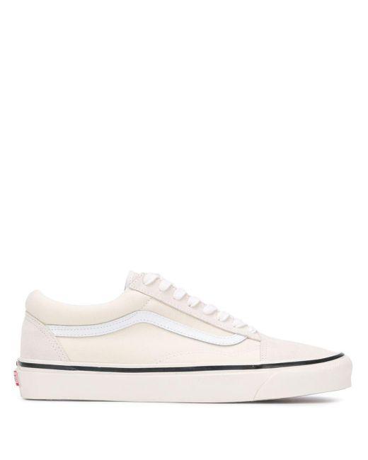 メンズ Vans オフホワイト スポーツ スニーカー White