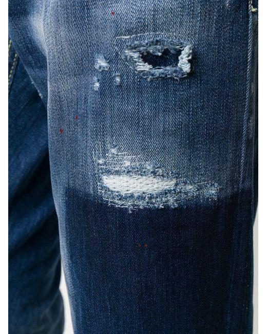 メンズ Dondup スリムジーンズ Blue