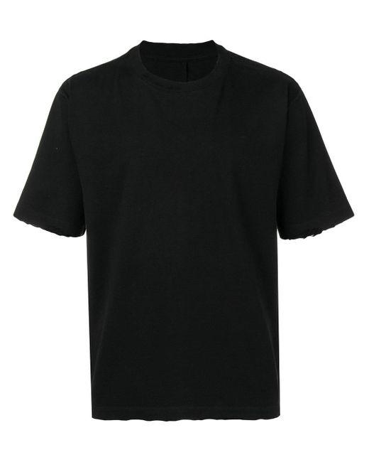 メンズ Unravel Project ダメージ Tシャツ Black