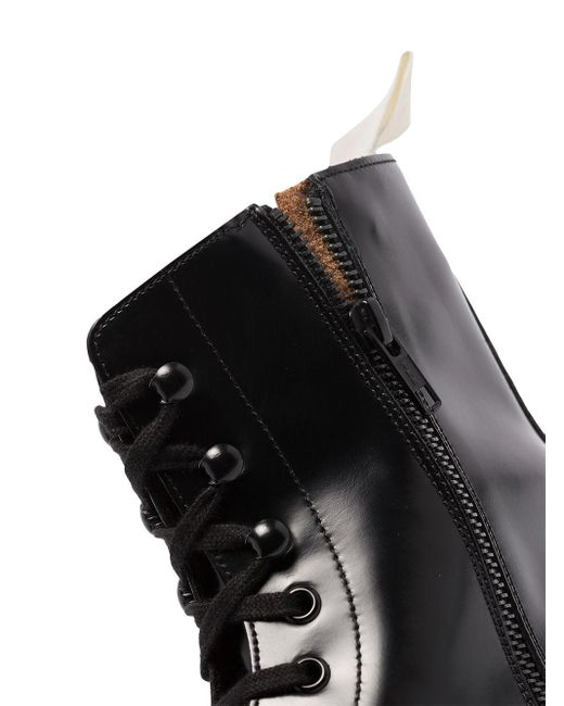 Ботинки В Стиле Милитари Common Projects для него, цвет: Black