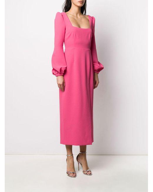 Racil ビショップスリーブ ドレス Pink