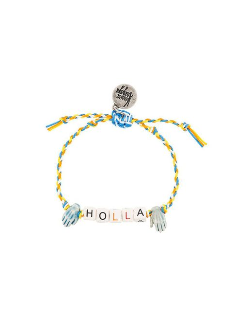 Venessa Arizaga - Metallic Holla Bracelet - Lyst