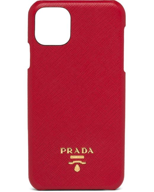 Prada ロゴ Iphone 11 Pro Max ケース Red