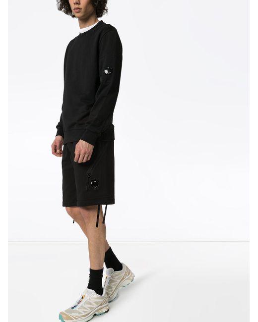 メンズ C P Company レンズ ショートパンツ Black