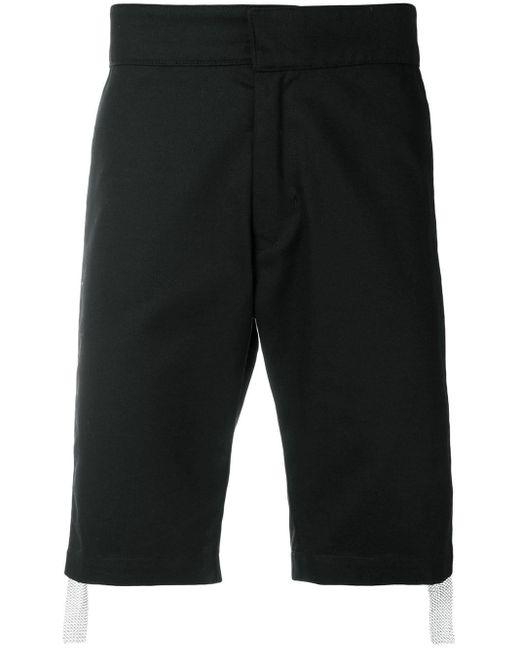 メンズ KTZ サイドチェーンメール ショートパンツ Black