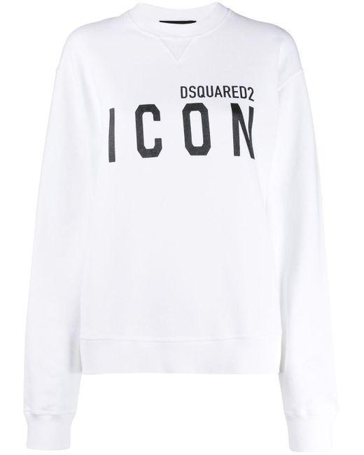 DSquared² Icon スウェットシャツ White