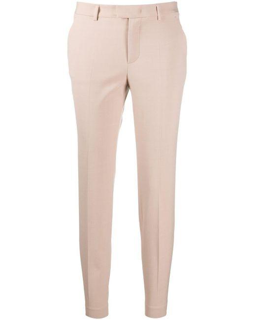 RED Valentino クロップド スリムパンツ Pink