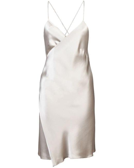 Michelle Mason ラップ ミニドレス Multicolor