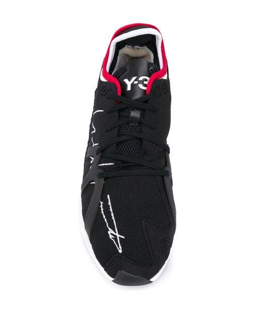 Baskets à semelle épaisse Y-3 pour homme en coloris Black