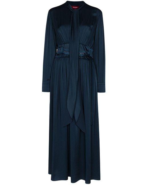 Sies Marjan Faye ベルテッド ドレス Blue