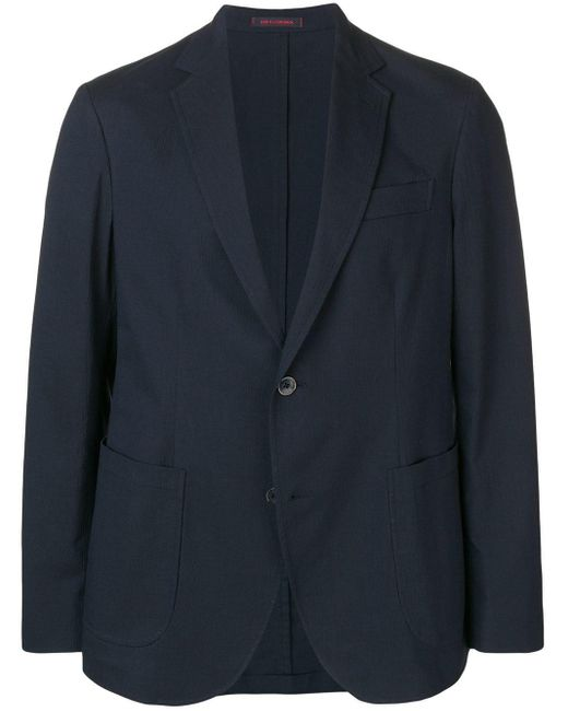メンズ The Gigi ノッチドラペル ジャケット Blue