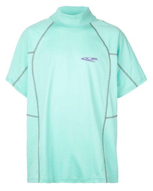 メンズ CALVIN KLEIN 205W39NYC Jaws Tシャツ Blue
