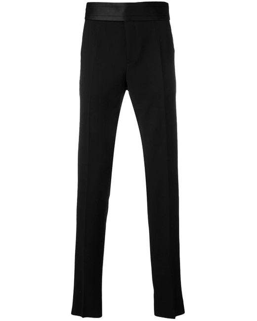 メンズ Dolce & Gabbana テーラード パンツ Black