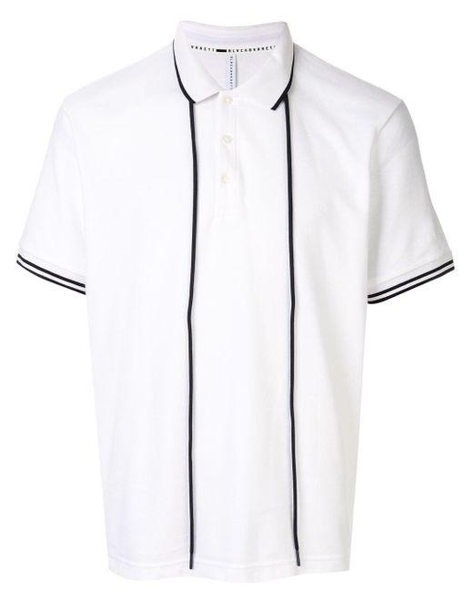 メンズ Neil Barrett ドローストリング ポロシャツ White