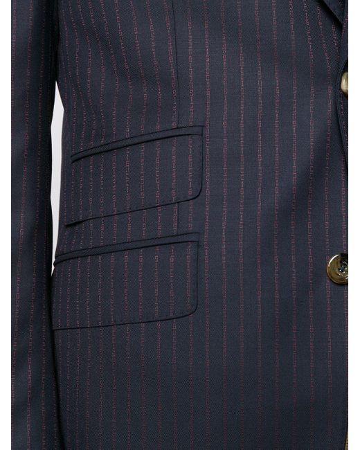 Костюм-двойка В Тонкую Полоску Gucci для него, цвет: Multicolor