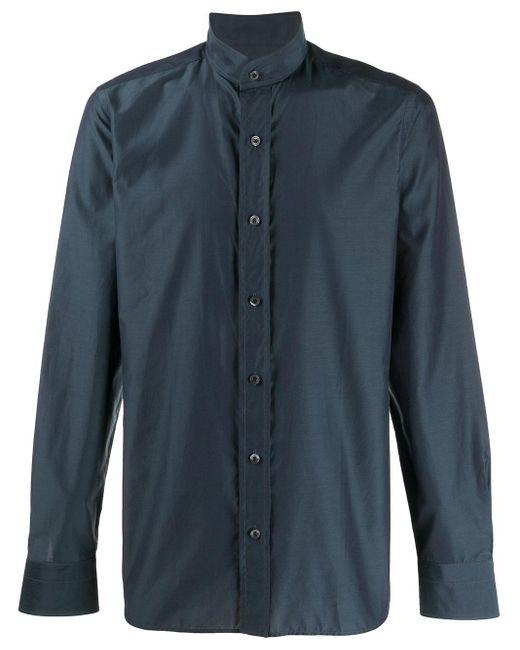 メンズ Tom Ford ストレートフィット シャツ Blue