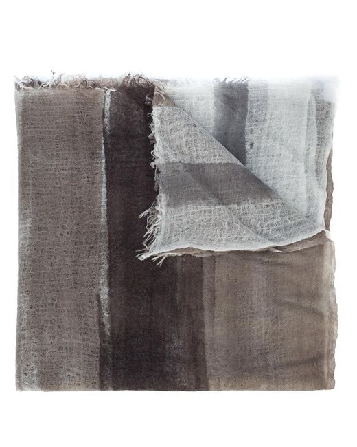 Avant Toi - Gray Avant Light Scarf - Lyst