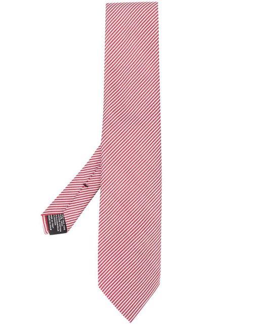 メンズ Tom Ford ジャカード ストライプネクタイ Pink