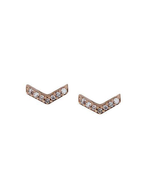 Astley Clarke Metallic 'varro Honeycomb' Diamond Stud Earrings