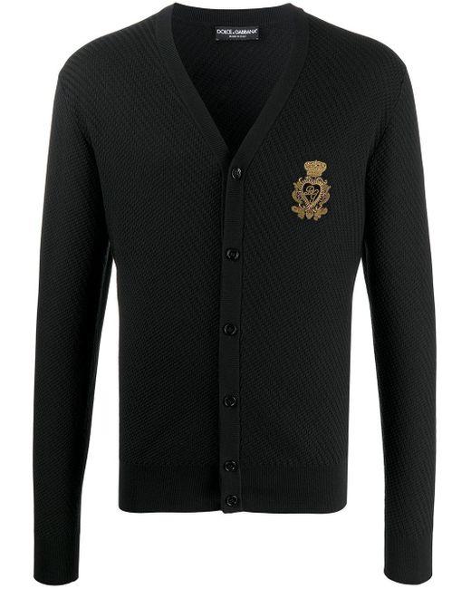 メンズ Dolce & Gabbana Dg カーディガン Black