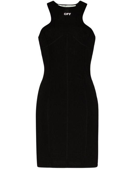 Off-White c/o Virgil Abloh レーサーバック ドレス Black