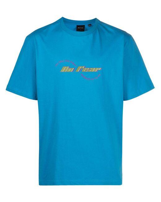 メンズ Daily Paper No Fear Tシャツ Blue