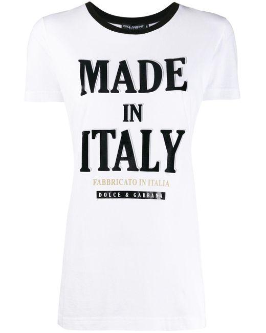 Dolce & Gabbana プリント Tシャツ Multicolor