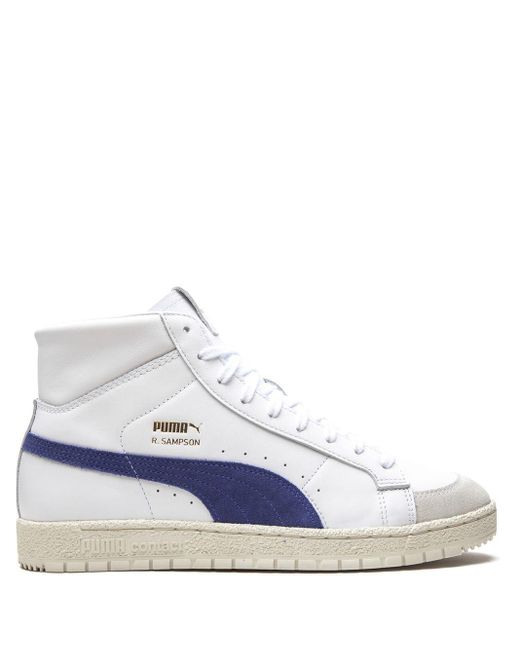 PUMA White X Ralph Sampson 70 Mid Sneakers for men