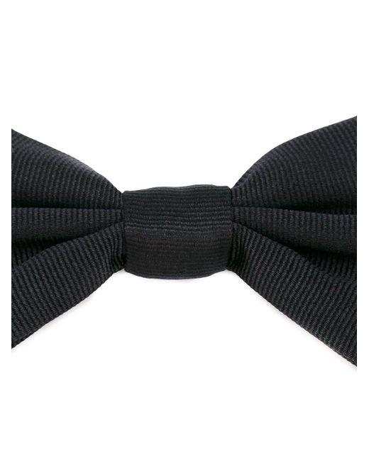メンズ Dolce & Gabbana シルク蝶ネクタイ Black