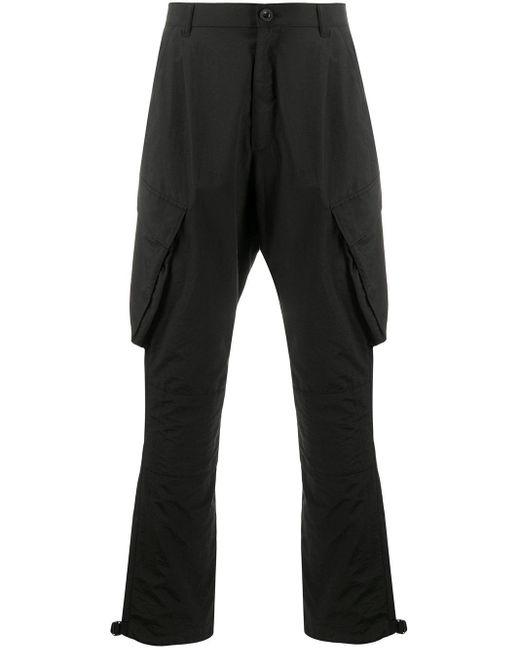 メンズ Givenchy テーパード カーゴパンツ Black