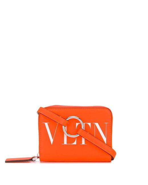 メンズ Valentino Garavani Vltn 財布 Orange