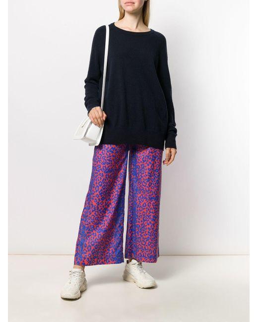 Chinti & Parker リラックスフィット セーター Blue