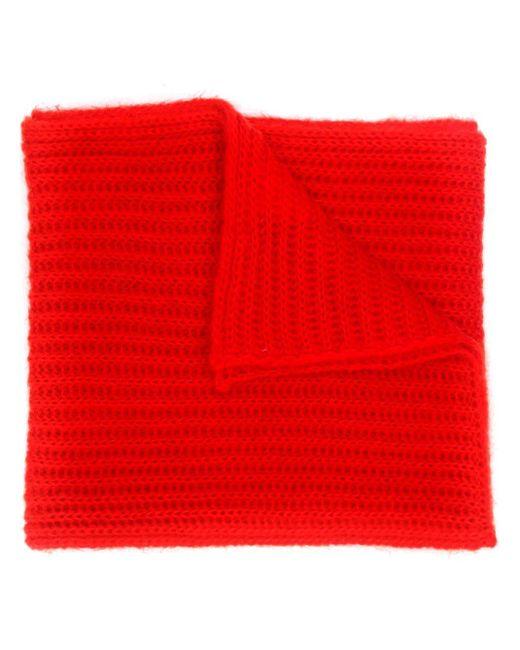 Marni ニット スカーフ Red