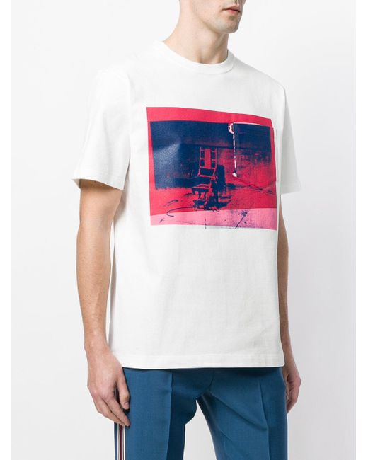 X andy warhol foundation building t-shirt CALVIN KLEIN 205W39NYC Cheap Discount Authentic Clearance 2018 ZyAxF
