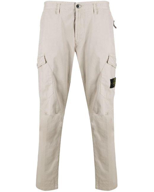 Pantalon à poches multiples Stone Island pour homme en coloris Multicolor