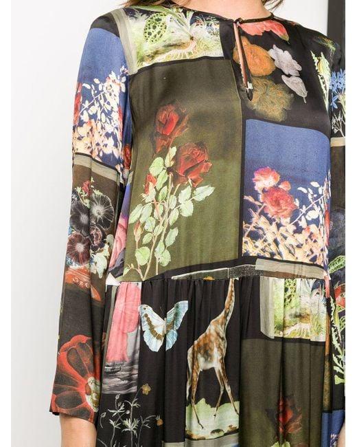 Vivetta パッチワーク ドレス Black