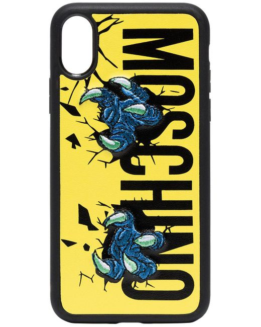 Moschino Claw Iphone X ケース Multicolor