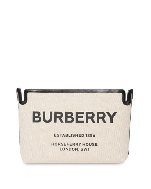 Burberry Horseferry クラッチバッグ M Multicolor