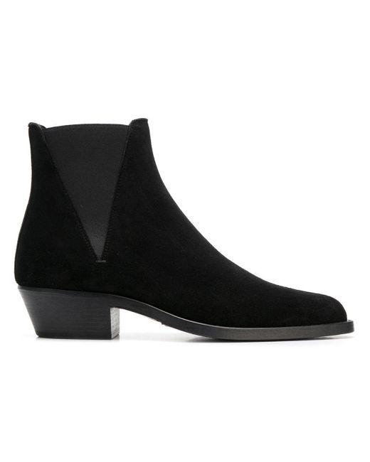 Ботинки Челси 'dakota' Saint Laurent для него, цвет: Black